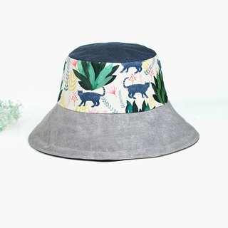 Handmade double-sided bucket hat