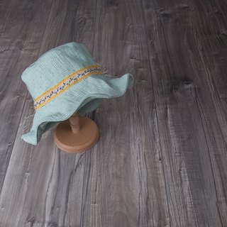 indulgent_ethnic style fisherman hat.mint