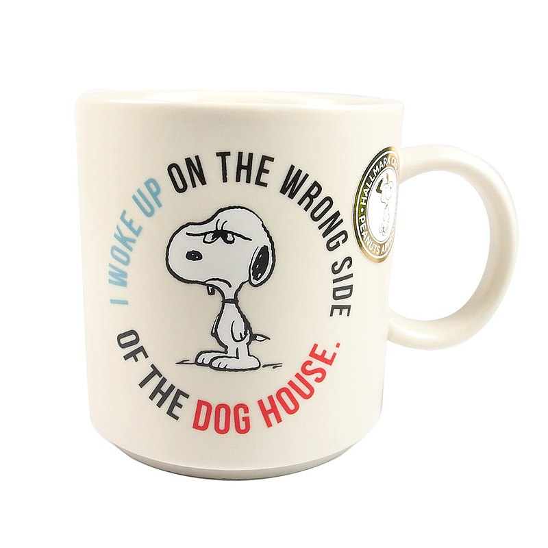 Snoopy馬克杯 起床氣【Hallmark-Peanuts史努比馬克杯 】