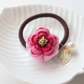 Charming Shades of Pink Floral Hair tie custom