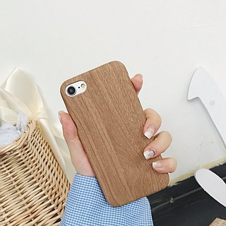 Wood Phone Case 2 Color Selection - iPhone 6 6s 6 plus 7 7 plus 8 8 plus Mobile Phone Case Phone Case Gift
