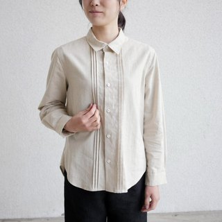 Ethical Hemp Manish Shirt Pin Tuck Type