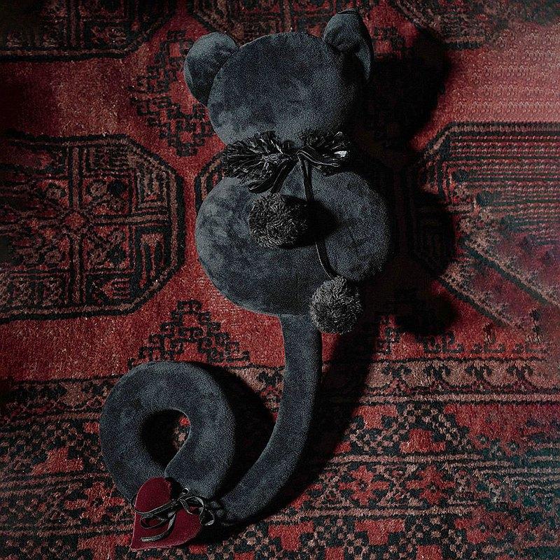 哥德神燈黑貓咪巫毒娃娃 / 39cm