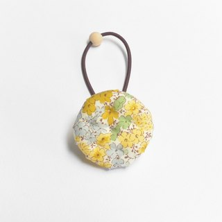 Handbag Biscuit Hair - Yellow Floral