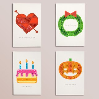 [] GFSD Rhinestone Collectibles - handmade cards - Valentine's Day / Christmas / birthday / Halloween card