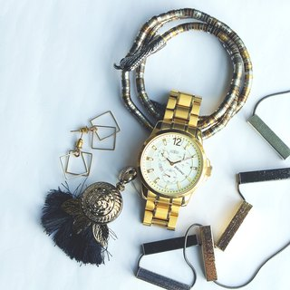 【PICONO】Glamour / Golden watch / SG-22902