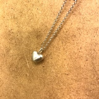 Heart 925 silver necklace