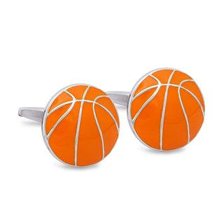 Basketball Cufflinks, Sports Cufflinks