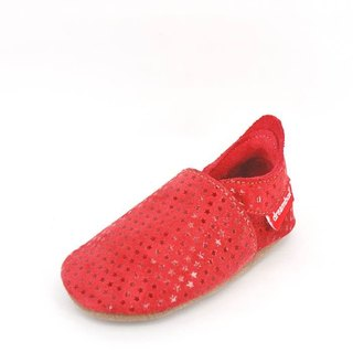 """Taiwan hand"" ""Mimi preferred"" ZORBA leather shoes / children's shoes (fine red)"