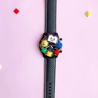Childhood Classic LEGO Watch  Silicone Strap