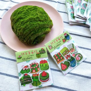 Matcha Strawberry Control 2.0 General / Sticker Set