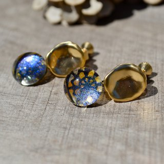 ciel d'hiver+ o  earrings