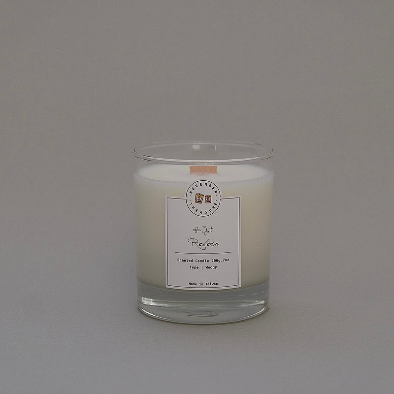 34' REBORN  / 工藝香氛蠟燭