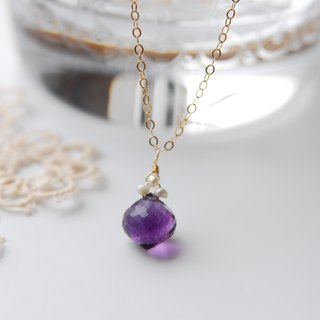 We lowered the price! ! Small necklace of onion cut flow light (14 kgf)