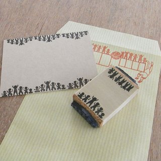Handmade rubber stamp audience