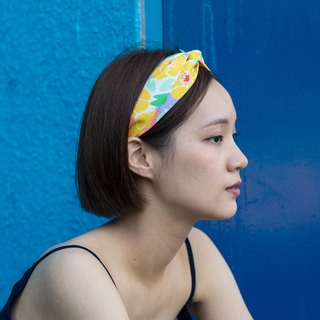 【The MAMA's Closet】Yellow Water Lily / Headband