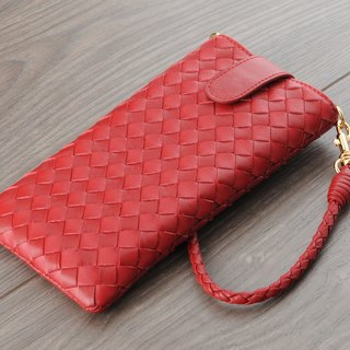 STORYLEATHER made (SAMSUNG series) Style S5 straight bagged woven custom leather case