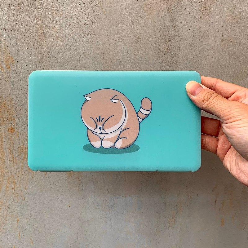 口罩收納盒 寵物圖案 貓咪 貓系列 可愛風