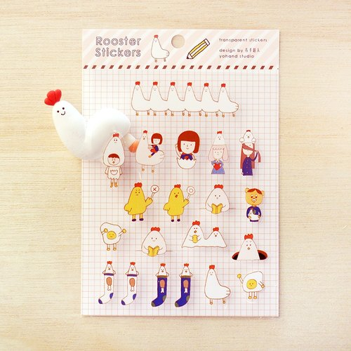 Die Cut Tiny Stickers / Rooster Year Limited