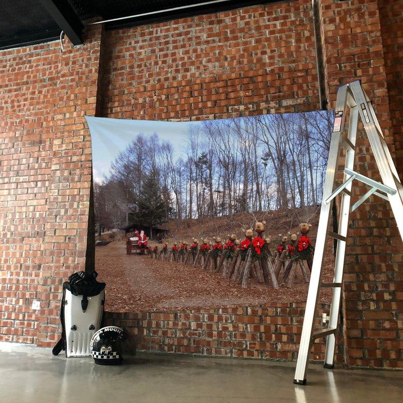 免費訂製你的專屬壁幔 家飾 布幔 BM08 麋鹿 Wall Tapestry