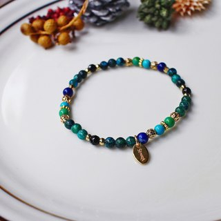 <Slow and warm natural stone series>C1174 Phoenix stone turquoise bracelet