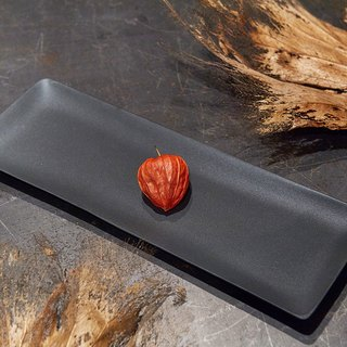 [3, co] ocean rectangular plate (middle) - black