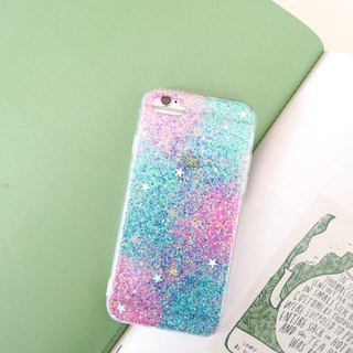 mermaid | case, phone case, glitter case, iphone case, samsung case