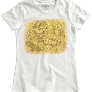 Classic white short-sleeved T-shirt _ nine copies (Female M no inventory)