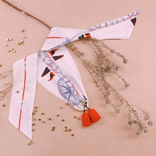 Tassel Necklace / Traveling Meaning (3 Colors)