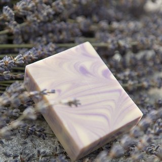 Love purple lavender soap