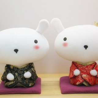 Bucute wedding rabbit kimono version ~ Japanese version / wedding gadgets / exclusive sale / handmade /