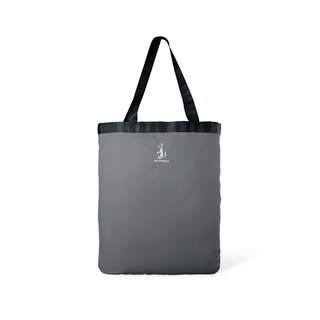 Toflip - Blue Canvas × Grey Polyester - Double Sided Totebag