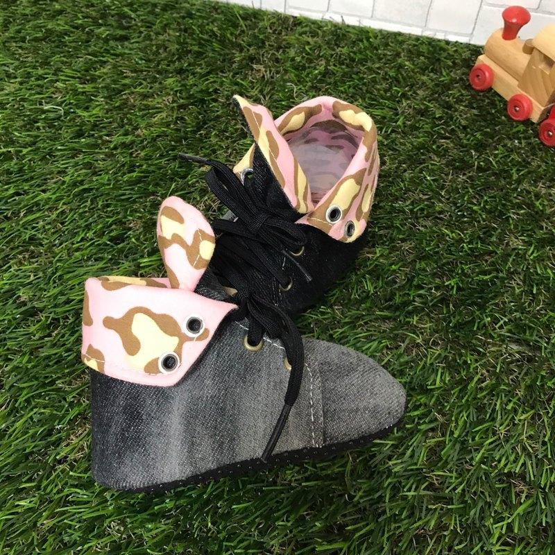 帥氣學步鞋-豹紋款
