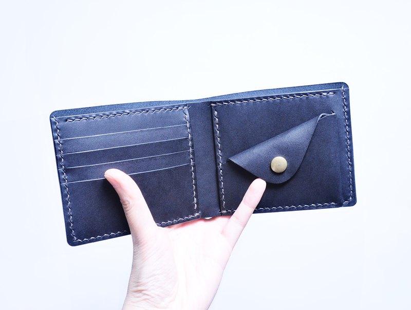 5咭位零錢包短夾 好好縫 皮革材料包 情侶銀包 意大利 植鞣革 DIY