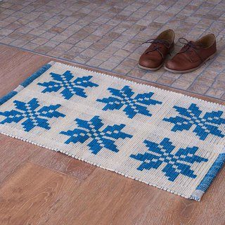 Snowflake cotton mat