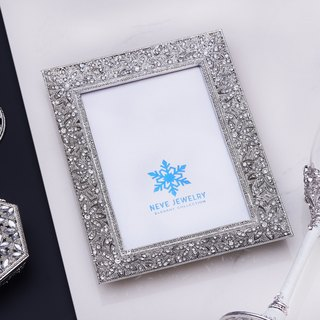 Goody Bag - Neve Jewelry Bride's Picture Frame (White / Silver)