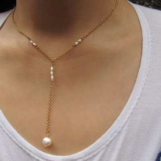 Miss Austin 2 Freshwater Pearl Necklace