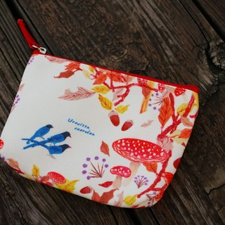 Cr8tive 4ever- bring TAIWAN treasure home - portable storage bag - Blue magpie