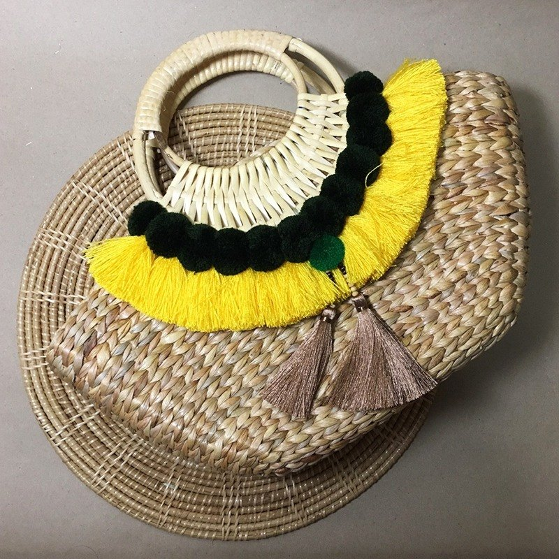 klungsee boho-chic bag yellow
