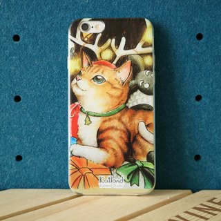 Home design - small deer flower cat case protective case Phone Case G