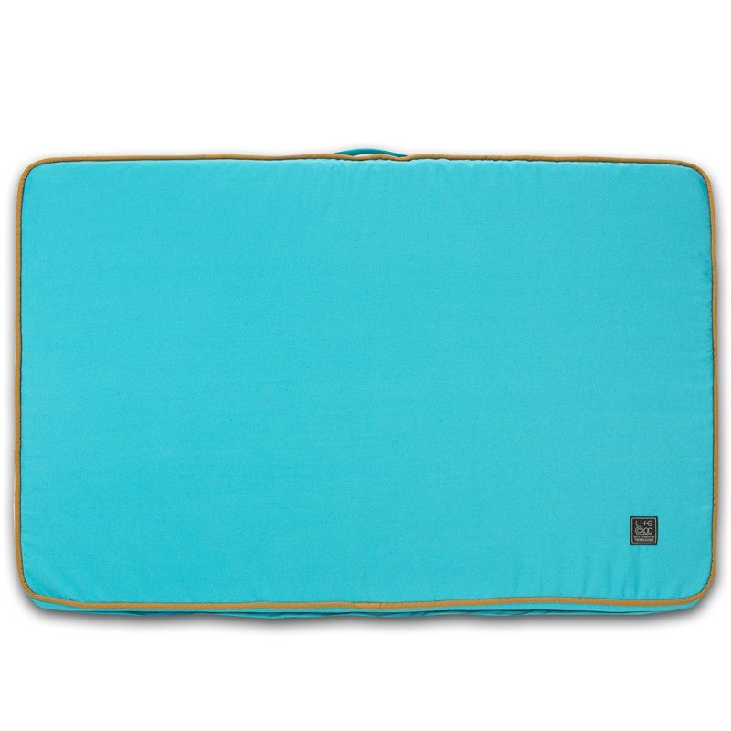 Lifeapp Sleeping Mat Replacement Cover L_W110xD70xH5cm (Blue) Without Sleeping Mat