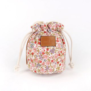 mi81 Camera Pouch Red Flower