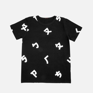 Taiwan's phonetic symbol short-sleeved print T-shirt-child