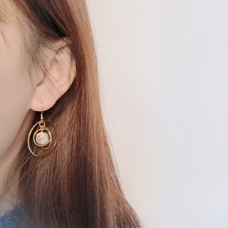 Planet Earrings Ear Clips