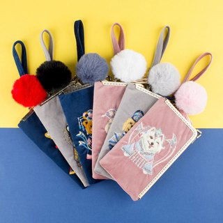 Wang Defu DIY material package high-end embroidery long wallet wallet material package dog year creative fabric small bag
