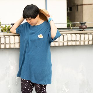 Light Denim Shirt - Sunny-Side-Up Egg