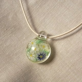 Astor Bouquet Pendant Glass Handmade