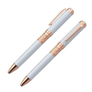 [Chris & Carey] Toki Series / Dot Pearl White Ball Pen TKBP-03