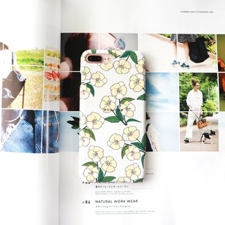 Beibai small tea flower phone case