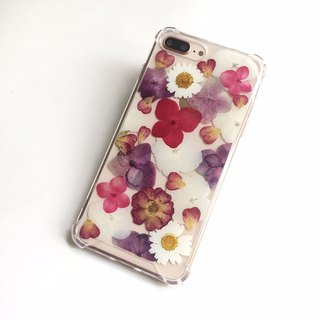 Wan Zi Dihong Dry Flower Phone Case Apple Samsung Gift